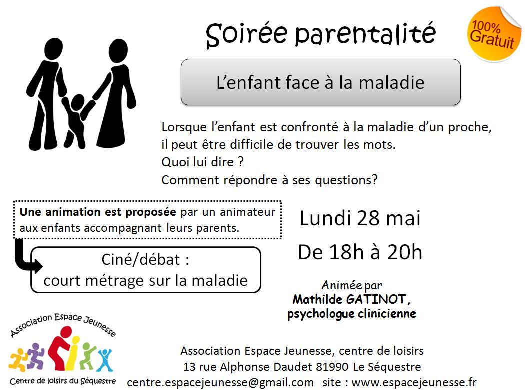 28 mai-- les enfants facent à la maladie
