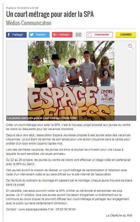 ados article SPA