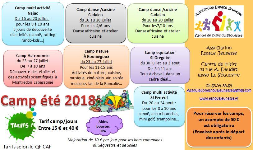 camp 2018