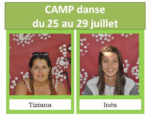 camp danse