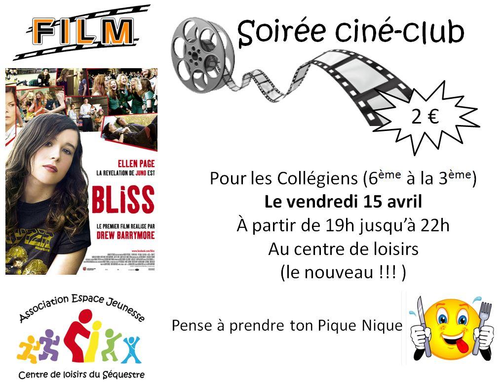 cineclub 15 avril