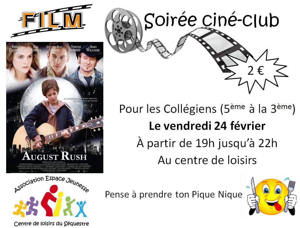 cineclub 24 fevrier