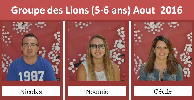 lions aout