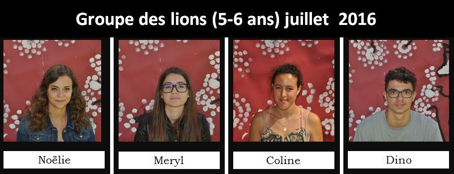 lions juillet