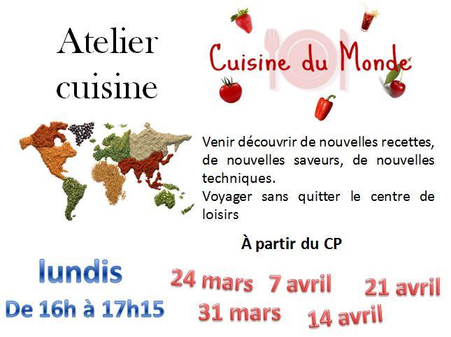 Atelier Cuisine Au Centre De Loisirs Association Espace Jeunesse